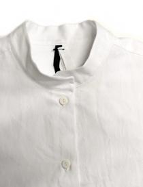 Camicia oversize Sara Lanzi colore bianco prezzo