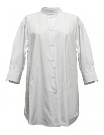 Camicia oversize Sara Lanzi colore bianco 02G.C001.01 SHIRT WHITE order online