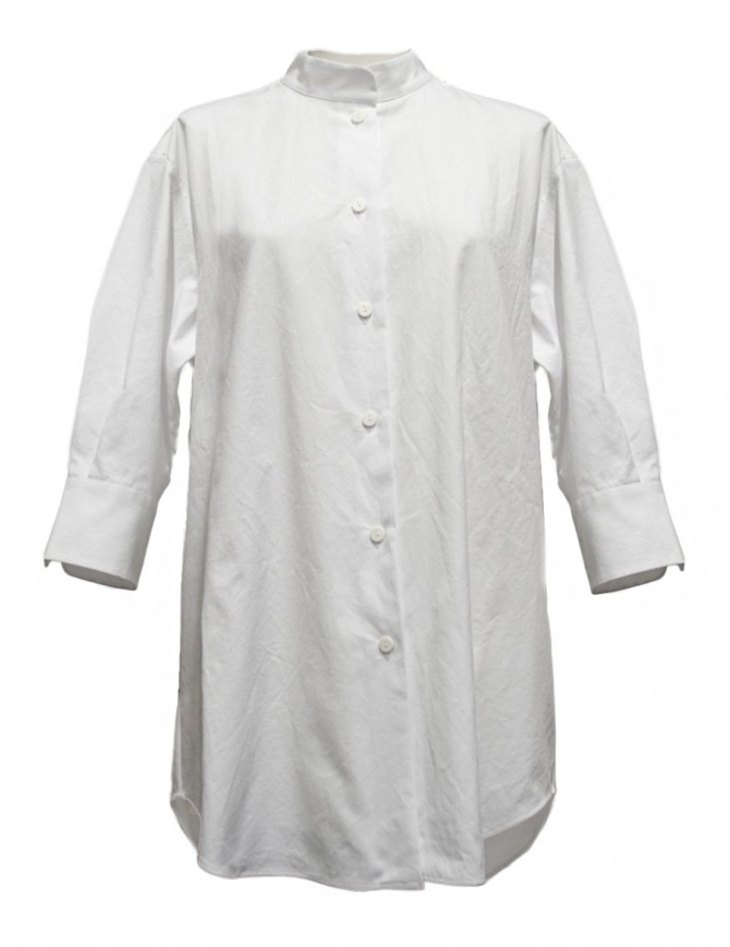 Sara Lanzi white oversized shirt 02G.C001.01 SHIRT WHITE womens shirts online shopping