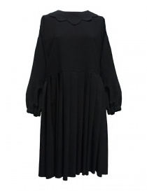 Sara Lanzi navy blue wool dress 01C.WAL.08 DRESS NAVY order online