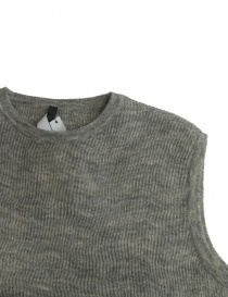 Maglia Sara Lanzi in lana grigia prezzo
