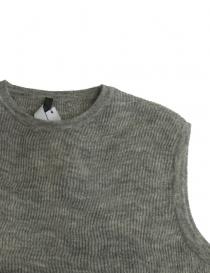 Sara Lanzi gray wool sweater price