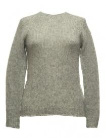 Sara Lanzi gray sweater 01M-WRW-07-PULL-GREY