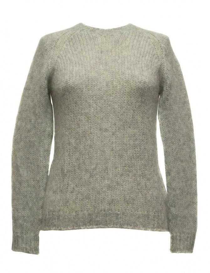 Sara Lanzi gray sweater 01M-WRW-07-PULL-GREY womens knitwear online shopping