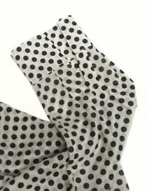 Sara Lanzi black and white dotted shirt womens shirts buy online