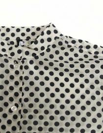 Sara Lanzi black and white dotted shirt price