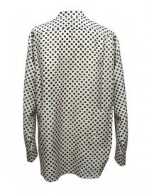 Camicia Sara Lanzi a pois bianco nero acquista online
