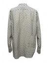 Sara Lanzi black and white dotted shirt shop online womens shirts