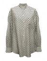 Camicia Sara Lanzi a pois bianco nero acquista online 06F-CSW-19-SHIRT-POIS