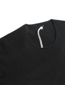 Maglia Label Under Construction Punched colore grigio scuro prezzo