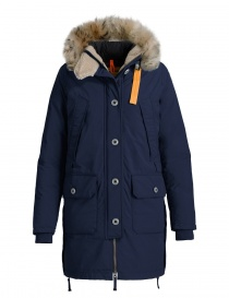 Womens jackets online: Parajumpers Inuit navy parka jacket