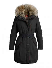 Parajumpers Borah black parka coat PWJCKCR33-BORAH-W541 order online