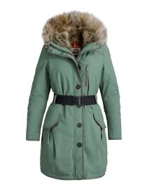 Parajumpers Borah moss green parka coat PWJCKCR33-BORAH-W594 order online