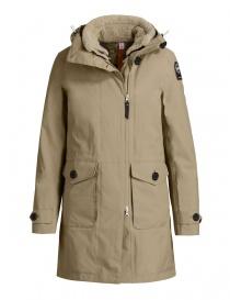 Parajumpers Toudo beige parka coat PWJCKKG32-TOUDO-W532 order online