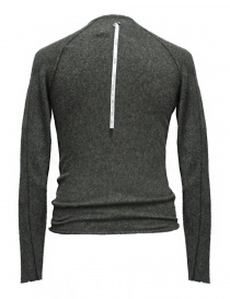Label Under Construction Zipped Seams Yardstick grey sweater buy online