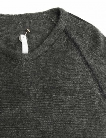 Label Under Construction Zipped Seams Yardstick grey sweater price