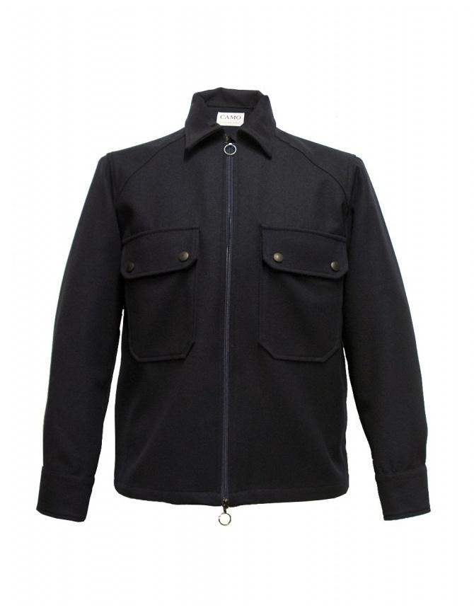 Giacca Camo colore blu AB0065-BALIO-R-NAVY giacche uomo online shopping