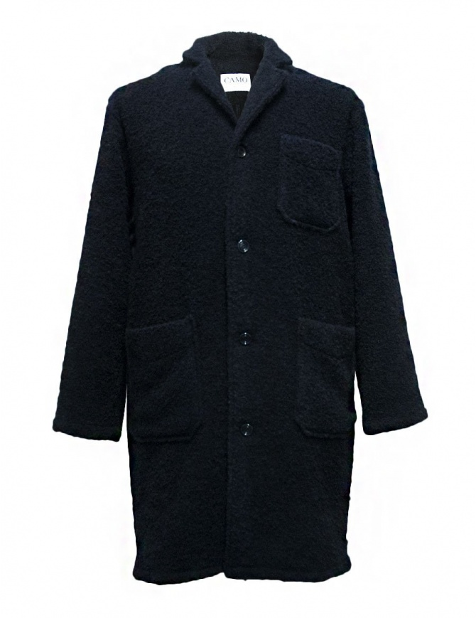 Cappotto Camo Ribot colore navy AB0131-RIBOT-NAVY cappotti uomo online shopping