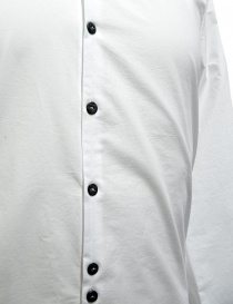 Camicia Label Under Construction Invisible Buttonholes colore bianco camicie uomo acquista online