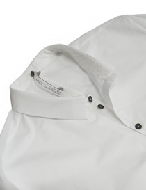 Label Under Construction Invisible Buttonholes white shirt price
