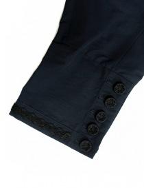 Pantalone Miyao colore blu navy pantaloni donna acquista online