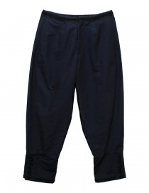 Womens trousers online: Miyao navy pants