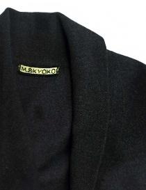 M.&Kyoko dark grey coat womens coats buy online