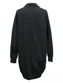 Fuga Fuga dark grey patchwork oversize sweater