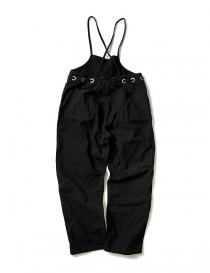 Kapital black cotton overalls