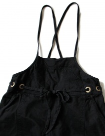 Kapital black cotton overalls womens trousers buy online