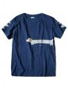 T-shirt Kapital indigo con stampa acquista online K1708SC021-IDG-TSHIRT
