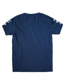 T-shirt Kapital indigo con stampa acquista online
