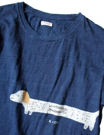 Kapital printed indigo t-shirt price