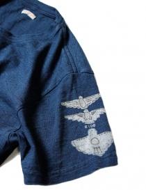 Kapital printed indigo t-shirt mens t shirts buy online