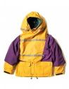 Giacca anorak Kapital Kamakura colore giallo e viola acquista online K1708LJ001-PURPLE