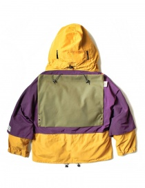 Kapital Kamakura yellow and purple anorak jacket