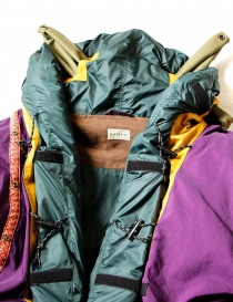 Kapital Kamakura yellow and purple anorak jacket price