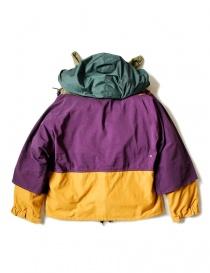 Kapital Kamakura yellow and purple anorak jacket mens jackets buy online