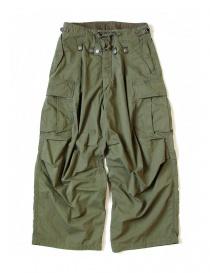 Pantalone Kapital Jumbo Cargo colore verde K1709LP045
