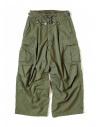 Pantalone Kapital Jumbo Cargo colore verde acquista online K1709LP045