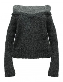Womens knitwear online: Rito alpaca grey sweater