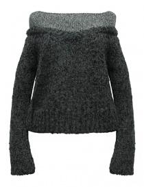 Rito alpaca grey sweater 0777RTW212K