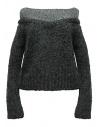 Maglia Rito in alpaca colore grigio acquista online 0777RTW212K CGY KNIT