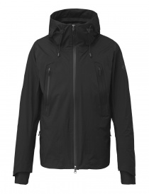 Mens jackets online: Allterrain by Descente Inner Surface Technology Active Shell black jacket