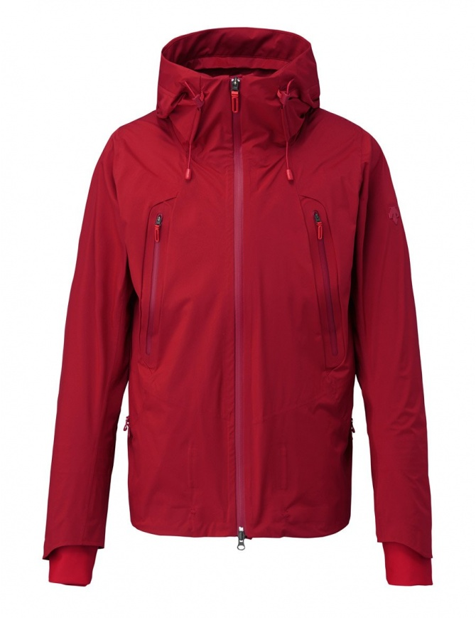 Giubbino Allterrain by Descente Inner Surface Technology Active Shell colore rosso DIA3753U-TRED giubbini uomo online shopping
