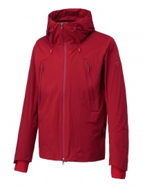 Allterrain by Descente Inner Surface Technology Active Shell red jacket
