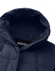 Allterrain by Descente Misuzawa Element L green and navy down coat womens coats buy online