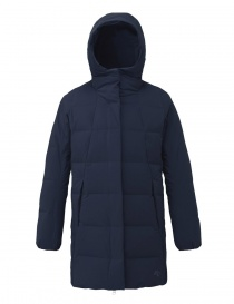 Womens coats online: Allterrain by Descente Misuzawa Element L green and navy down coat