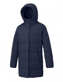 Cappotto piumino Allterrain by Descente Mizusawa Element L colore verde e navy
