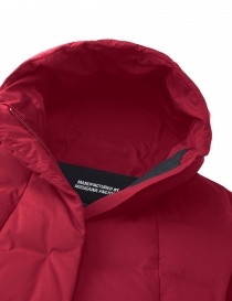 Cappotto piumino Allterrain by Descente Mizusawa Element L colore rosso cappotti donna acquista online